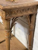 Wonderful French Walnut Console Table (32 of 36)