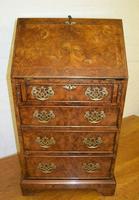 Quality Antique Design Pollard Oak Bureau