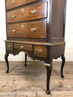 Antique 18th Century George II Oak Chest on Stand (M-652) (6 of 12)