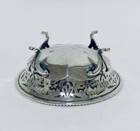 Antique Solid Sterling Silver Pierced Bonbon Dish (7 of 9)