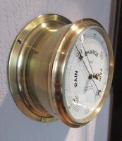 Antique Southampton Bulkhead Marine Barometer (6 of 7)
