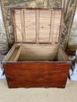 19th C Brass Bound Campaign Style Chest (8 of 8)