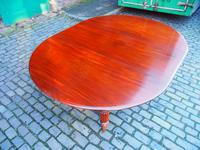 Large George IV Mahogany Dining Table by M. Willson, London (12 of 20)
