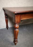 Barker and Stonehouse Victorian Mahogany Dining Table - Seats Eight (4 of 5)