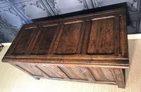 18th Century Oak Coffer (6 of 13)