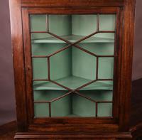 Georgian Mahogany Corner Cupboard Glazed (3 of 4)