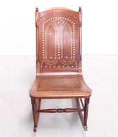 Late 19th Century American Rocking Chair (5 of 10)