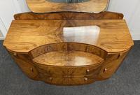 Burr Walnut Art Deco Dressing Table (7 of 14)