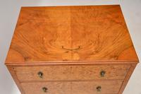 Antique Burr Walnut  Chest on Cabinet (6 of 12)