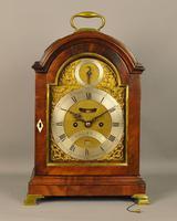 Fine Mahogany Verge Triple Pad Top Bracket Clock - Martineau, London (2 of 13)