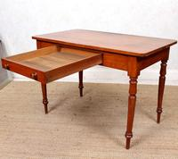 Edwardian Mahogany Writing Desk Table (10 of 12)