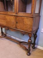 Quality Antique Walnut Display Cabinet (19 of 19)