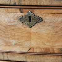 Georgian Style Walnut Bowfront Chest on Stand (6 of 11)