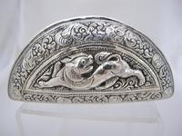 Beautiful Antique Silver Shan States Burmese Lime Box c.1900 (2 of 8)