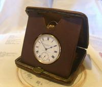 Vintage Pocket Watch Case 1940s Original Bedside Mantelpiece or Storage Case (2 of 12)