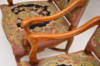 Pair of Antique Carolean Style Needlepoint Armchairs (7 of 12)