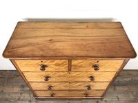 Antique Victorian Mahogany Chest of Drawers (2 of 10)