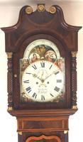 Fine English Longcase Clock John Fenton Congleton 8-day Striking Grandfather Clock Solid Mahogany Case (5 of 16)