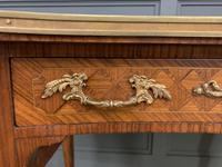 French Kingwood Parquetry Kidney Shaped Desk (6 of 19)
