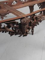 Victorian French Carved Fruitwood & Marble Top Console Table (11 of 19)