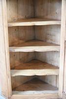 Rustic Pine Hanging Corner Cupboard (12 of 12)