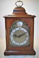 Superb 1949 English Bracket Clock by Rotherham's of Coventry