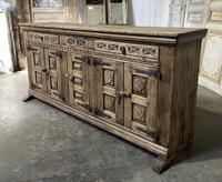 Rustic Oak Spanish Sideboard (13 of 13)