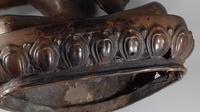 Antique 19th Century Tibetan Bronze Tara Deity Figure (6 of 19)