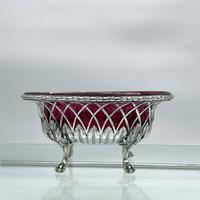 18th Century Antique George III Sterling Silver Dish London 1795 William Pitts & Joseph Preedy (3 of 11)