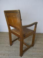 """Oak Armchair by """"Lizardman"""" Yorkshire (9 of 10)"""