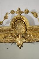 19th Century Gilt Overmantle Mirror with Bevelled Plate (5 of 12)