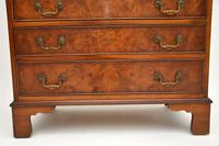 Antique Burr Walnut  Writing  Bureau (4 of 12)