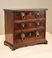 Miniature Mahogany Chest of Drawers (3 of 6)