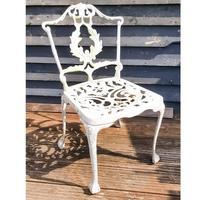 Aluminium Vintage White Painted Five Piece Patio Set (4 of 12)