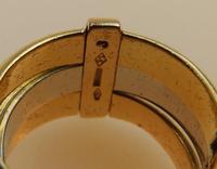 Stunning 18ct Gold, Diamond & Emerald Ring 17/n in Original Box 20th Century (6 of 10)