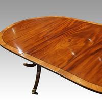 Regency Style Mahogany Dining Table (4 of 10)