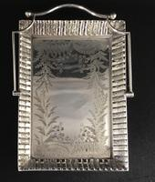 Very Good Victorian Silver Plated Cake / Bread Basket 'The Chelsea' (6 of 6)