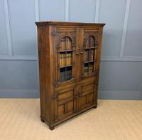 Ipswich Oak Bookcase c.1930 (10 of 13)