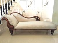 Quality Antique Victorian Carved Chaise Longue