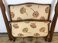 French Pair of Roll End Single Bed Frames with Slatted Bases (8 of 17)