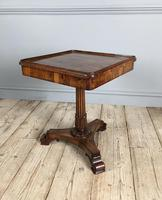 William IV Rosewood Occasional Table (2 of 7)