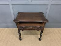 Good 19th Century Carved Oak Table (5 of 15)