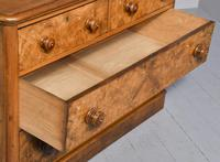 Victorian Burr Walnut Chest of Drawers c.1860 (5 of 8)