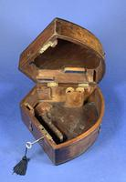 Victorian Brass Sextant In It's Original Mahogany Box. (10 of 18)