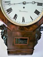 Exceptionally Fine 1845 English Drop Dial Fusee Wall Timepiece by Francis Scholefield (5 of 11)