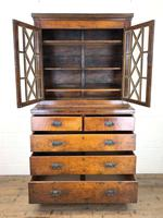 19th Century Oak Two Stage Bookcase (3 of 11)