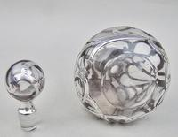Exquisite Overlay Sterling Silver & Glass Scent Bottle c.1900 (8 of 8)