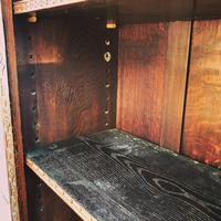 Carved Oak Adjustable Bookcase (4 of 12)
