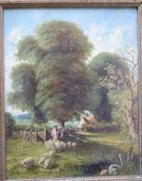 Fine Pair of English Landscapes - J J Hill (8 of 11)