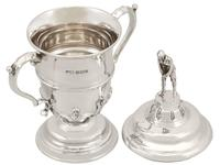 Sterling Silver Cup and Cover Antique George V 1933 (6 of 12)
